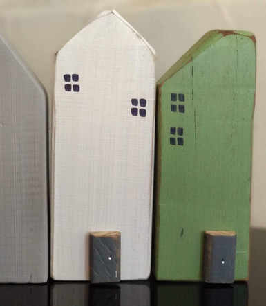 Upcycle wooden crates - painted and perfect for the home