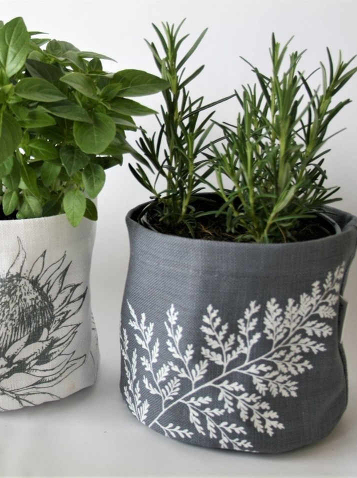 soft pot screen printed
