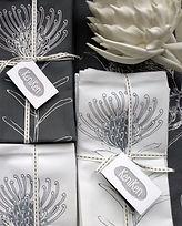 Protea Tableware Screen Printed Textiles