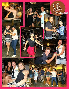 Salsa Night in La Finca Bali