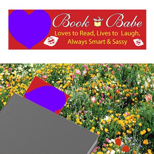 Seeded Bookmark (Heart Design)