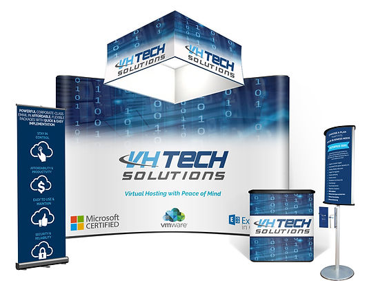 trade show booths displays lightweight pop up portable backdrops banners tents hanging banners