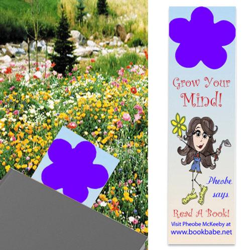 Seeded Bookmark (Flower Design)