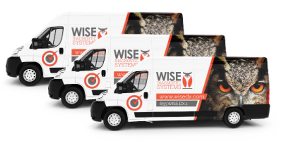 vehicle wraps for car truck van fleet high impact cost-effective advertsing