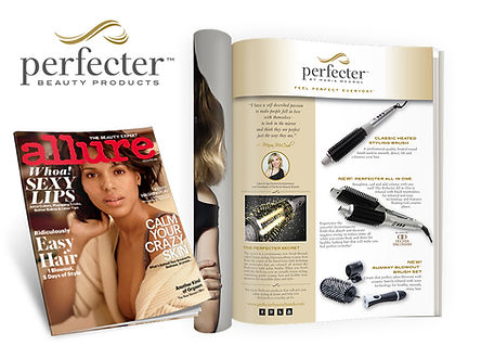 magazine ad for perfecter beauty products