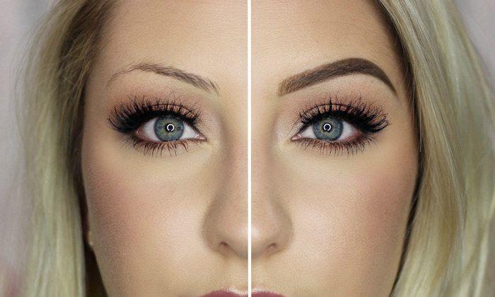 Before & After Eyelashes