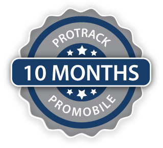 10 Months ProTrack/ProMobile Cambria County