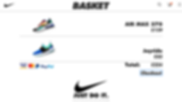 Nike Web Mock Up