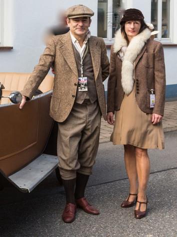Oldtimer Race/ kostüm+styling: gewand stuttgart