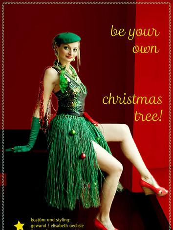 Weihnachtkarte kostüm+styling : gewand stuttgart