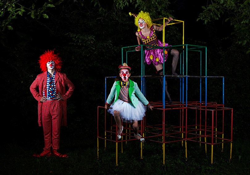 Clowns kostüm+styling: gewand stuttgart