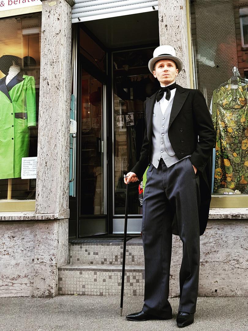 20er Jahre / kostüm+ styling: gewand stutttgart