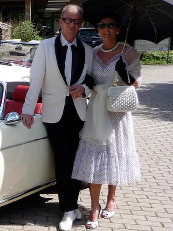 50s Style Oldtimer/ kostüm+styling: gewand stuttgart