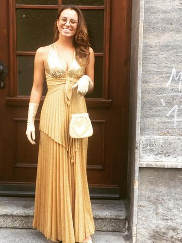Golden Girl / kostüm: gewand stuttgart
