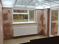 Plaster Drying Conservatory Beechview Ho