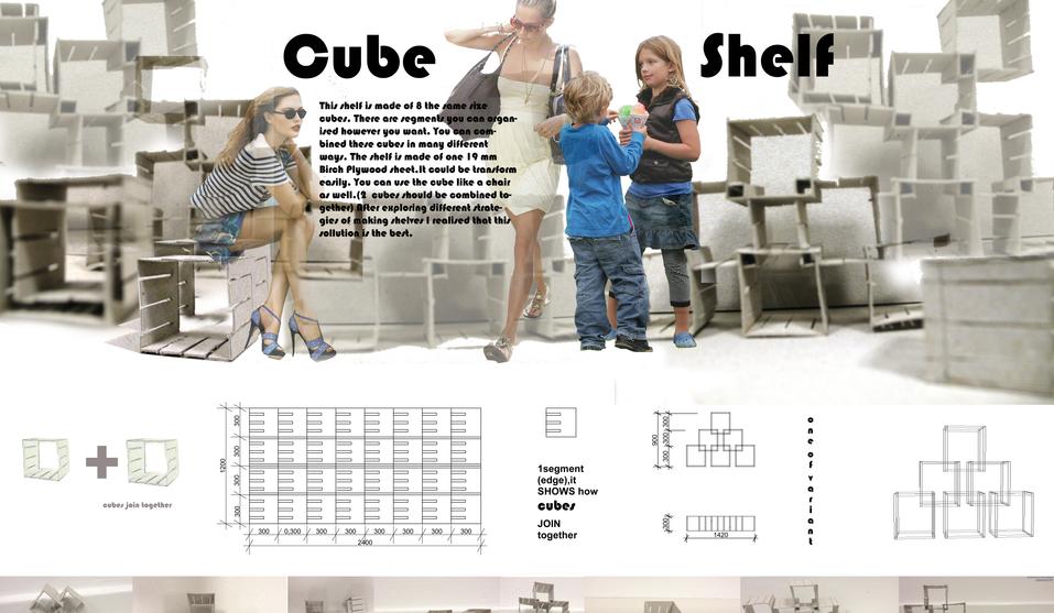 CUBE SHELF projektas / CUBE SHELF project