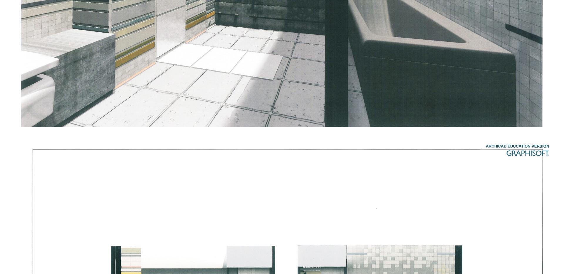 VONIOS KAMBARIO projektas / BATHROOM project