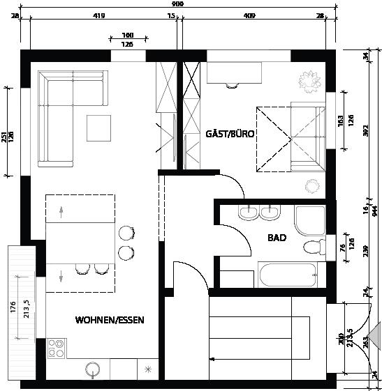 PRIVATAUS namo projektas Vokietijoje / PRIVATE HOUSE project in Germany