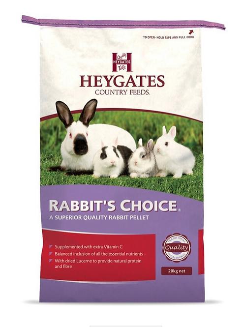 Heygates Rabbit Choice Pellets - from