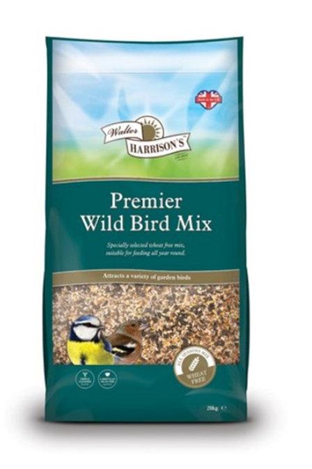 Premium Wheat Free Wild Bird Seed 20kg