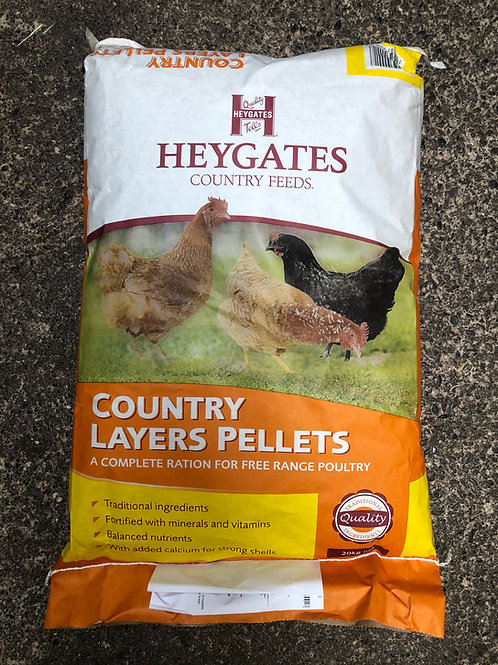 Heygates Country Layers Pellets 20kg