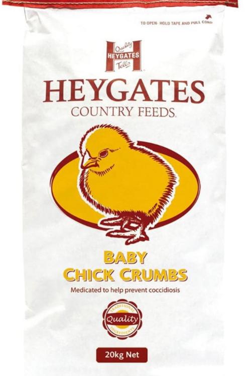 Heygates Baby Chick Crumb 20kg