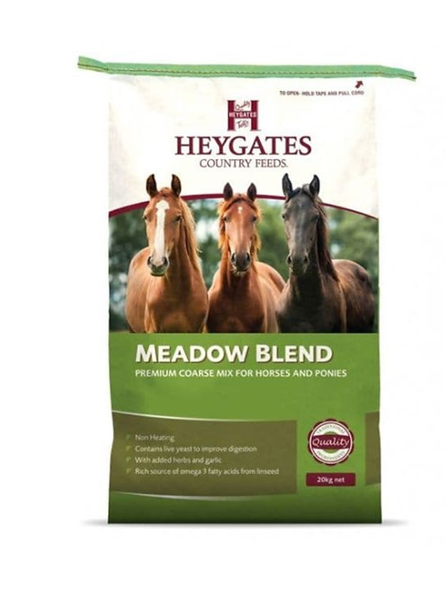 HEYGATES Meadow Blend (Cool Mix) with garlic & live yeast