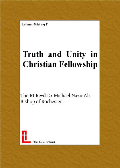 Truth and Unity in Christian Fellowship