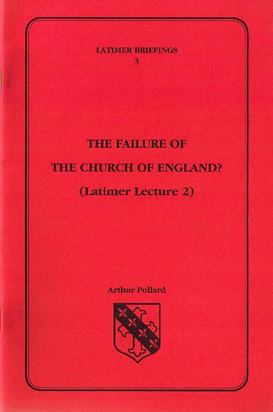 The Failure of the Church of England?