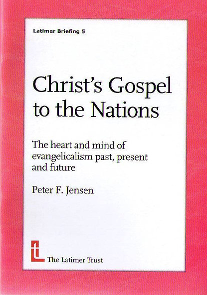 Christ's Gospel to the Nations