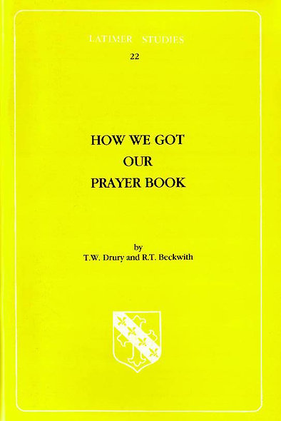 How We Got Our Prayer Book