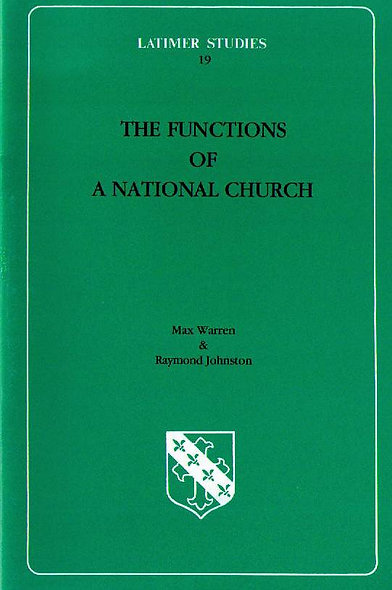 The Functions of a National Church
