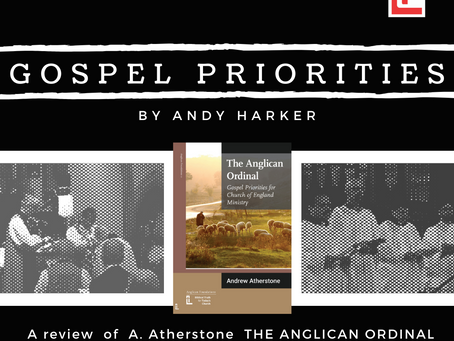 Gospel Priorities: A review of The Anglican Ordinal