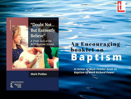 An Encouraging Booklet about Baptism