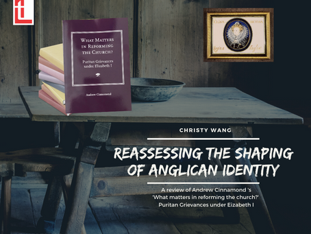 Reassessing the shaping of Anglican Identity