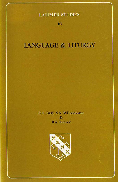Language and Liturgy