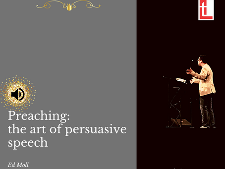 Preaching: the art of persuasive speech