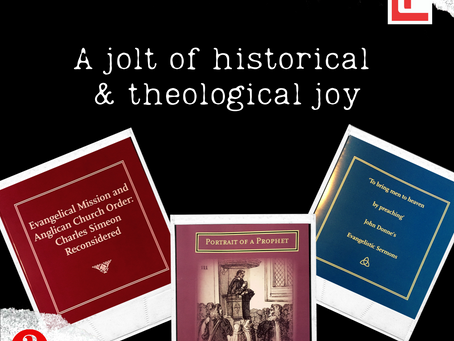 A jolt of historical & theological joy