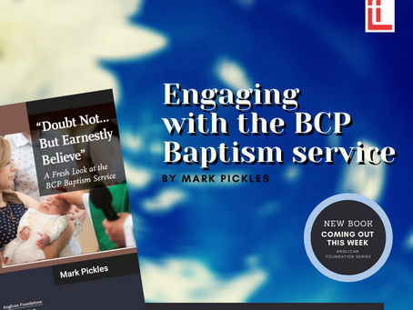 Engaging with the BCP Baptism Service