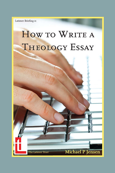 How to Write a Theology Essay