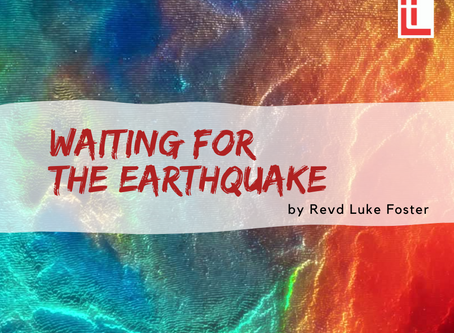 Waiting for the earthquake