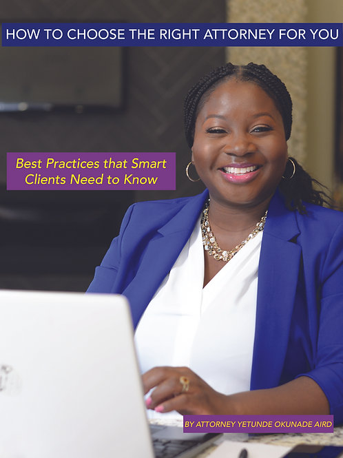 How to Choose the Right Attorney for You