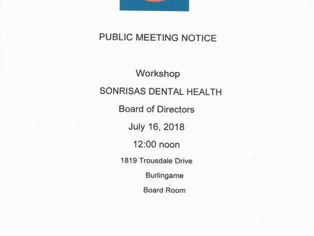 Sonrisas Board of Directors' Workshop