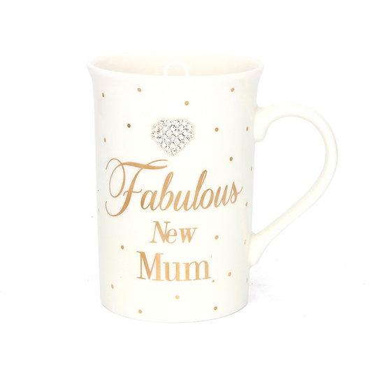 Polka Dot New Mum Mug