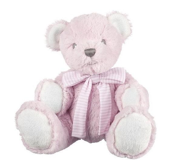 Baby Girl Rattle Bear