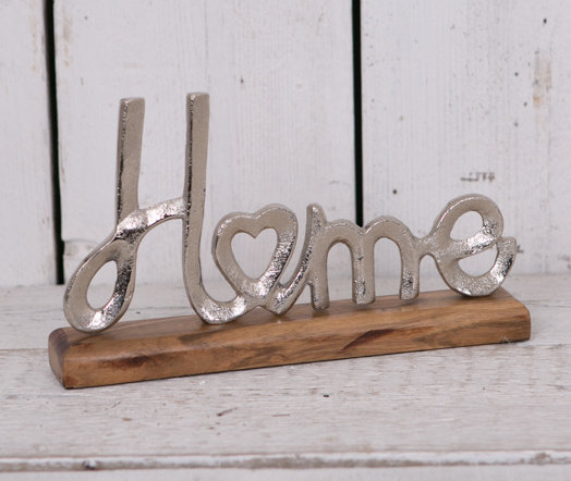 'Home' Decorative Sign
