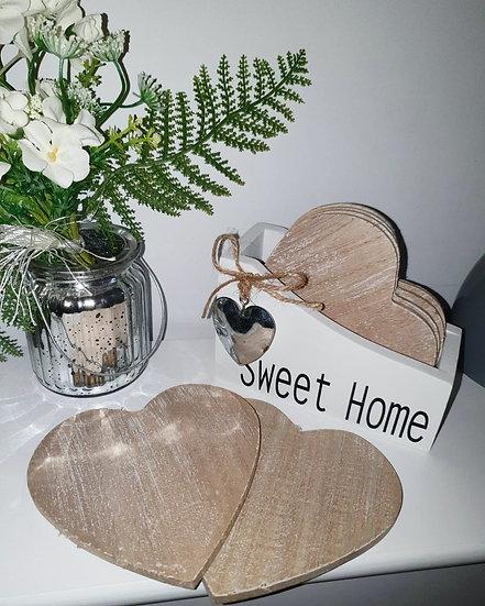 Sweet Home Coaster Set