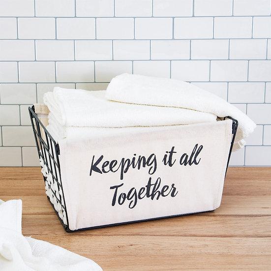 Keeping It Together Storage Basket