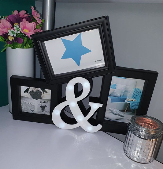 LED Trio Picture Frame