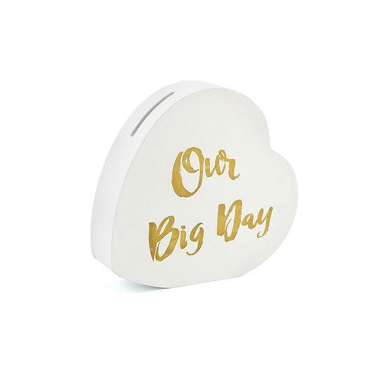 'Our Big Day' Wedding Savings Bank